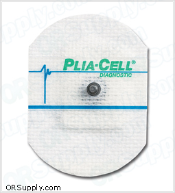 Adult Cloth ClearSite® Conductive Adhesive ECG Electrodes by ConMed - Plia-Cell®