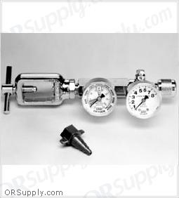 Salter CGA870 Oxygen Regulator, Brass, 1 Each