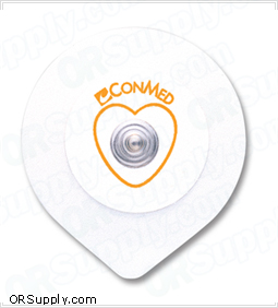 Adult Foam Conductive Adhesive Gel ECG Electrodes by ConMed - Latex Free - Positrace® and Suretrace®