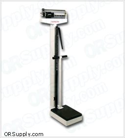 Detecto Physician Scale with Handpost and Height Rod