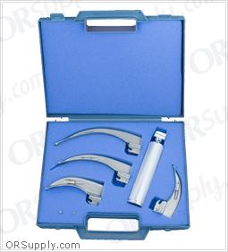 Sun-Med Conventional MacIntosh English Profile Laryngoscope Set