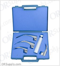 Sun-Med Conventional MacIntosh American Profile Laryngoscope Set