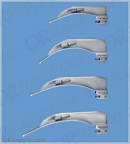 Sun-Med American Profile Conventional Illumination MacIntosh Laryngoscope Blades