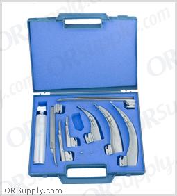 Sun-Med Conventional MacIntosh & Miller English Profile Laryngoscope Set