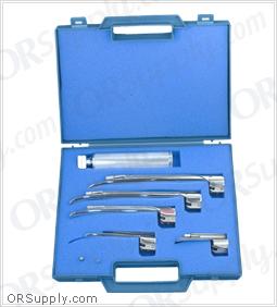 Sun-Med Conventional Miller American Profile Laryngoscope Set