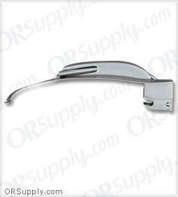 Sun-Med Greenline MacIntosh Blechman American Profile Fiber Optic Laryngoscope Blade Size 3