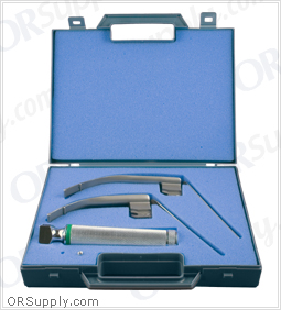 Sun-Med Sun-Flex Fiber Optic MacIntosh English Profile Laryngoscope Set