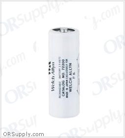 Welch Allyn 3.5V Replacement NiCad Rechargeable Battery (Black)