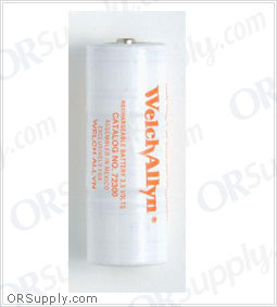 Welch Allyn 3.5V Replacement NiCad Rechargeable Battery (Orange) for 71000-A/71000-C