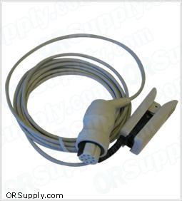Datex SpO2 Finger Probe - 10-pin connector jack