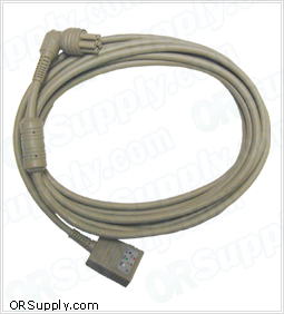 DRE ASM-5000 ECG Cable, 3-Lead AHA Safety Din