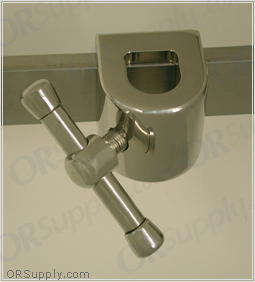 Birkova Side Rail Accessory Clamp for Round Bars - 1 each