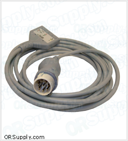 3-Lead Patient ECG Cable for Hewlett Packard Codemaster and Merlin Monitors
