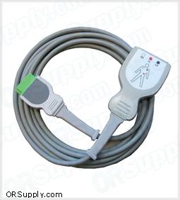 3-Lead Patient ECG Cable for Marquette Eagle Series Patient Monitors