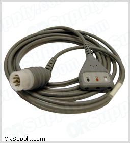 3-Lead Patient ECG Cable for DRE and Kontron Patient Monitors