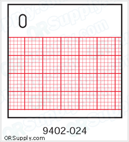 Z-Fold Recording Charts for Marquette Medical Systems Machines, Box of 10