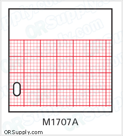 Z-Fold Recording Charts for Kendall and Hewlett Packard Machines