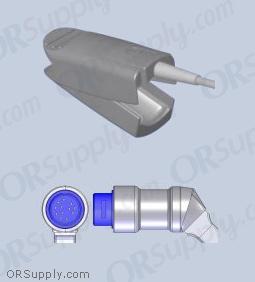 Philips SpO2 Finger Sensor with Large Reusable Finger Probe (12 Feet, Direct)