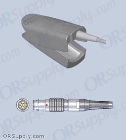 Invivo SpO2 Finger Sensor with Large Reusable Finger Probe (3 Feet, Direct)