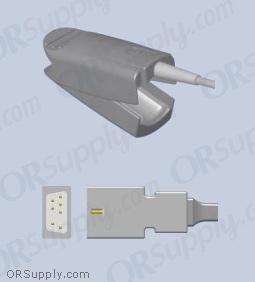 Nellcor SpO2 Finger Sensor with Large Reusable Finger Probe (3 Feet, Indirect)