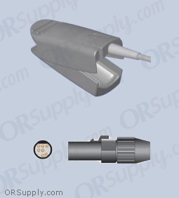 Ohmeda SpO2 Finger Sensor with Large Reusable Finger Probe (12 Feet, Direct)
