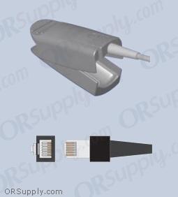 Palco SpO2 Finger Sensor with Large Reusable Finger Probe (3 Feet, Indirect)