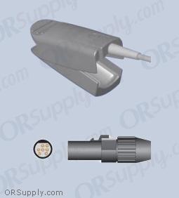 SiMED SpO2 Finger Sensor with Large Reusable Finger Probe (12 Feet, Direct)