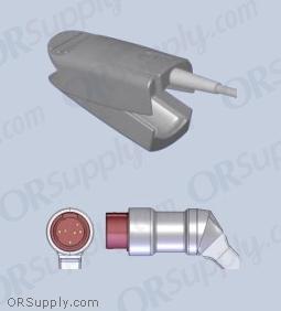 Kontron SpO2 Finger Sensor with Large Reusable Finger Probe (12 Feet, Direct)