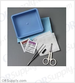 Sklar Premium Suture Removal Tray (Case of 10)
