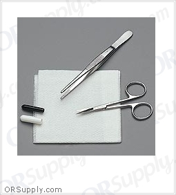 "Sklar Suture Removal Tray ""D"" (Case of 50)"