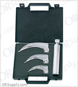 Flexicare Venticaire Conventional Macintosh English Profile Laryngoscope Set