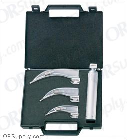 Flexicare Venticaire Conventional Macintosh English Profile Laryngoscope Set