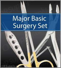 Major Basic Surgical Instrument Set