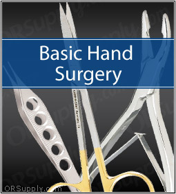 Basic Hand Surgical Instrument Set