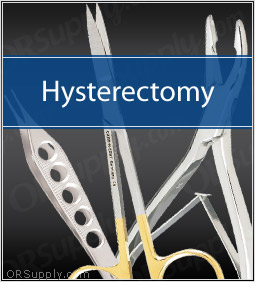 Hysterectomy Surgical Instrument Set