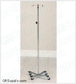 Clinton Heavy Base 4-Hook IV Pole