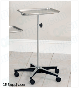 Clinton Mobile Instrument Stand with Stainless Steel Tray