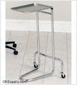Clinton Double Post Mayo Stand with Stainless Steel Tray