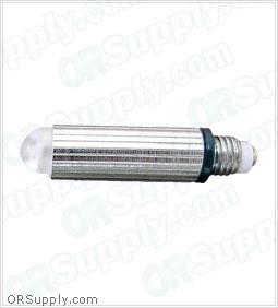 Sun-Med Conventional Illumination 2.5 Volt Small Laryngoscope Lamp - Frosted - Box of 10
