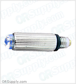 Sun-Med Conventional Illumination 2.5 Volt Small Laryngoscope Lamp - Clear - Box of 10
