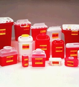 BD CHEMOTHERAPY SHARPS COLLECTORS