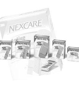 3M™ NEXCARE™ ACTIVE™ STRIPS FLEXIBLE FOAM BANDAGES