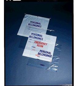 MEDICAL ACTION PATIENT PERSONAL BELONGINGS BAGS