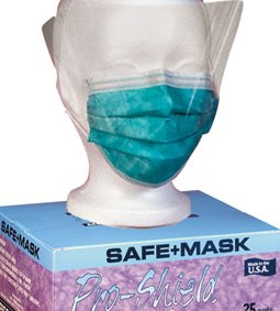 AMD-RITMED LATEX FREE SURGICAL FACEMASKS