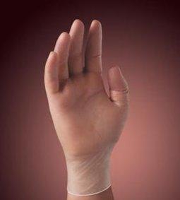 KIMBERLY-CLARK SYNTHETIC PLUS VINYL GLOVES - POWDER FREE