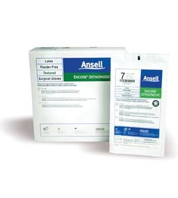 ANSELL ENCORE® POWDER-FREE ORTHOPAEDIC STERILE SURGICAL GLOVES