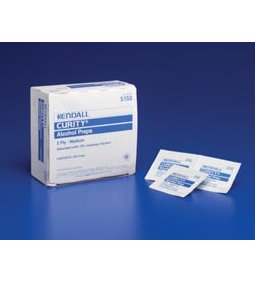 COVIDIEN/KENDALL CURITY™ ALCOHOL PREP PADS