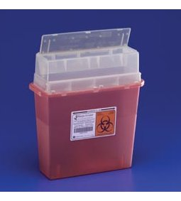 COVIDIEN/KENDALL TORTUOUS PATH SHARPS CONTAINERS