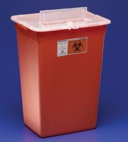COVIDIEN/KENDALL LARGE VOLUME SHARPS CONTAINERS