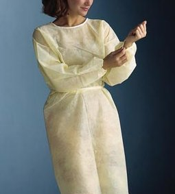 GRAHAM PROFESSIONAL NONWOVEN ISOLATION GOWN